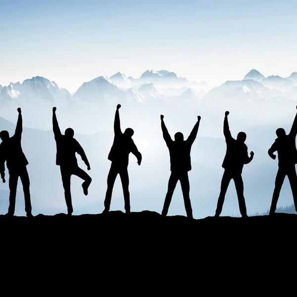 good foundation, start right, build a power team