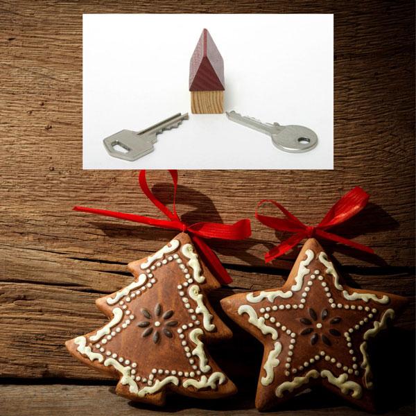 homeowner, Keys, Christmas